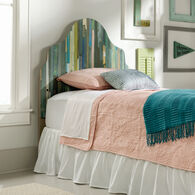 MB Home Orchard White Plank Reversible Twin Headboard