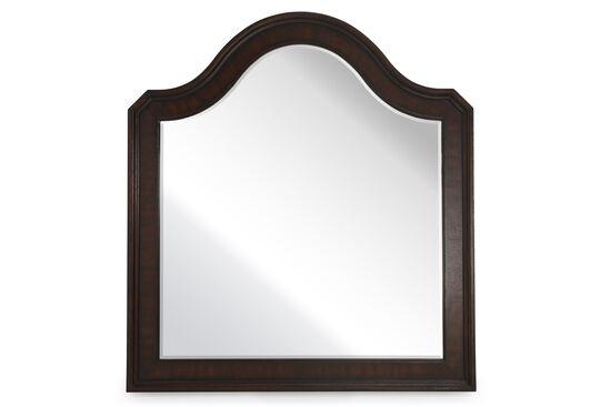 "46"" Traditional Beveled Portfolio Mirror in Brown"