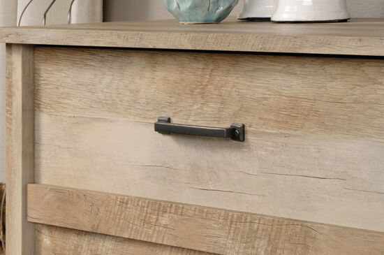 """41.5"""" Traditional Four-Drawer Chest in Lintel Oak"""