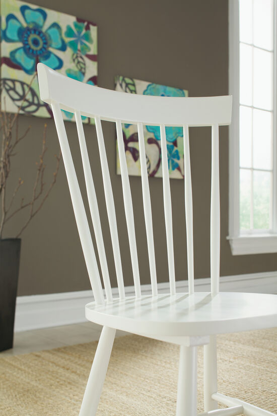 Two-Piece Spindle Back 36'' ChairSet in White