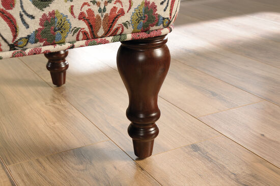 """Contemporary 36"""" Floral Patterned Accent Bench"""
