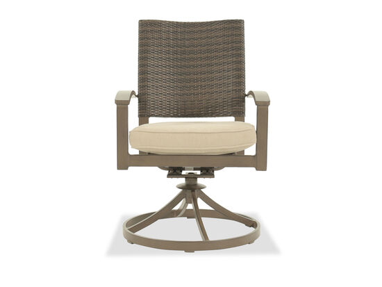 Ashley Moresdale Dark Brown Swivel Chair