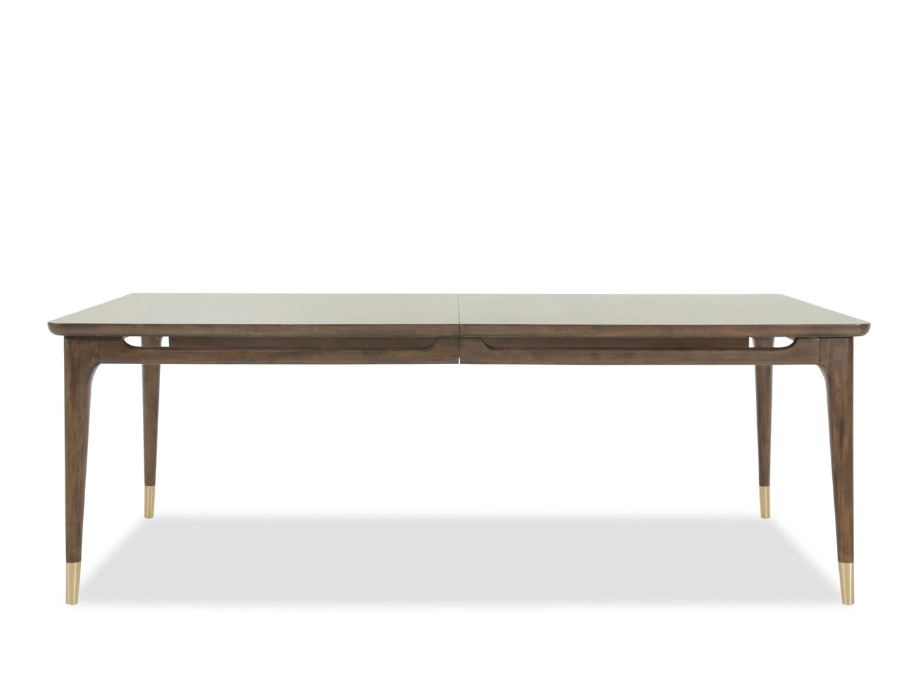 Mid Century Modern 42 To 82 Rectangular Dining Table In