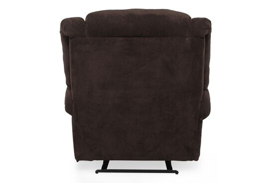 """Wall Saver Casual 44"""" Recliner in Chocolate"""