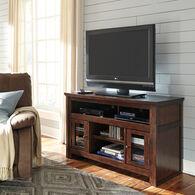 Ashley Harpan Reddish Brown Medium TV Stand