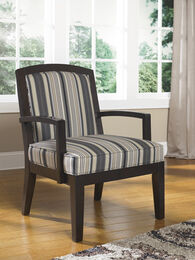 Ashley Yvette Black Showood Accent Chair