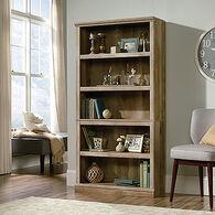 MB Home Genesis Lintel Oak 5-Shelf Bookcase