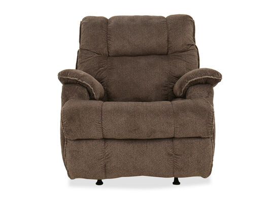 Casual Power Recliner in Brown