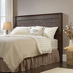 "Contemporary 52"" Full/Queen Panel Headboard in Coffee Oak"