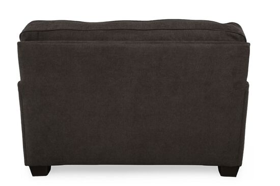 """I-Rest Traditional 54"""" Sleeper Chair in Dark Gray"""