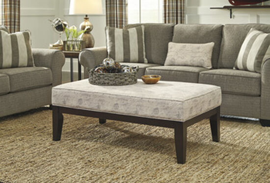 "49"" Oversized Accent Ottoman"