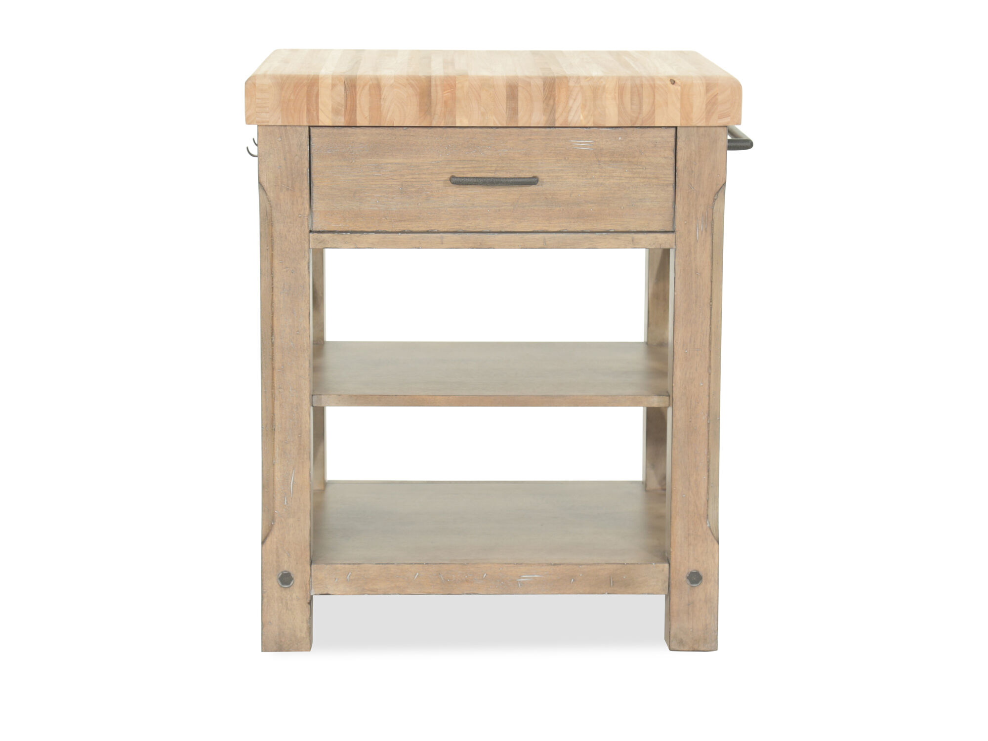 Images 36u0026quot; Two Shelf Kitchen Island In ...