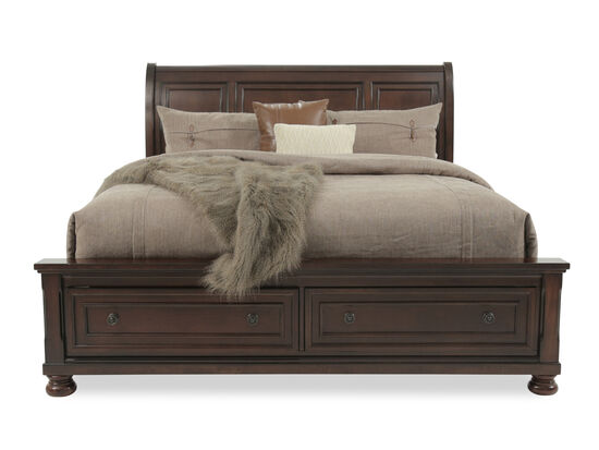 Ashley Porter King Sleigh Bed w/Storage