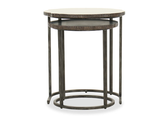 Casual Nesting Tables in Black