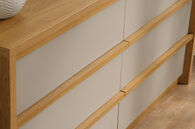 MB Home Fusionville Pale Oak Dresser
