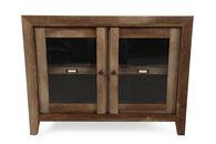 Sauder Oak Display Cabinet
