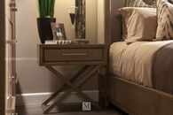 Legacy Highline One-Drawer Brown Nightstand