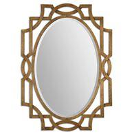 Uttermost Margutta Gold Oval Mirror