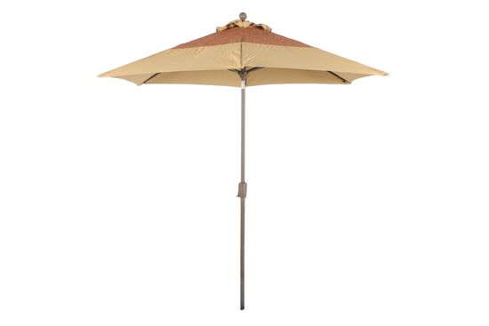 Casual Textured Umbrella in Beige
