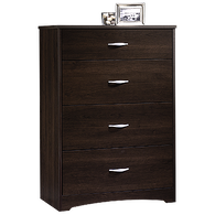 """39"""" Traditional Four-Drawer Chest in Cinnamon Cherry"""