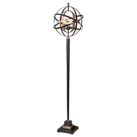 Armillary Sphere Floor Lamp in Oil Rubbed Bronze
