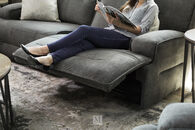 Simon Li Granada Charcoal Power Sofa