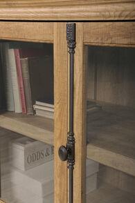 MB Home Counselor Scribed Oak Storage Credenza