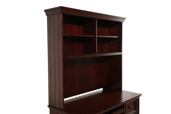 Winners Only Cape Cod Chocolate Desk Hutch