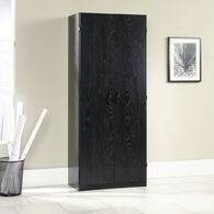 MB Home Office Central Ebony Ash Storage Cabinet