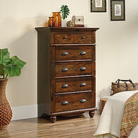 "50"" Contemporary Five-Drawer Chest in Curado Cherry"