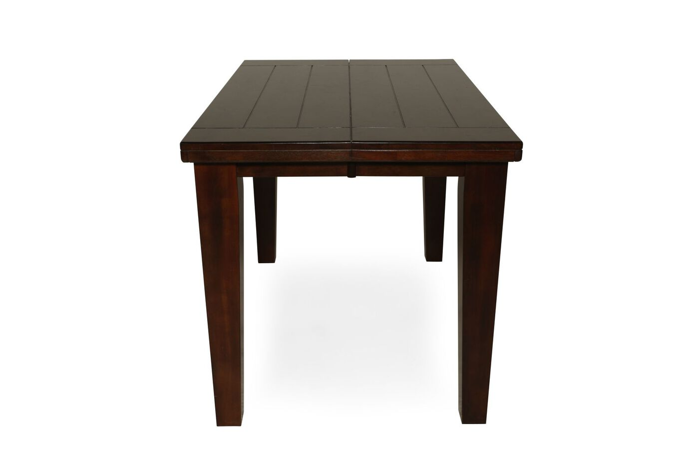 Casual Butterfly Extension 36quot To 54quot Pub Table In Burnished