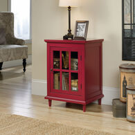 MB Home Counselor Berry Red Side Table