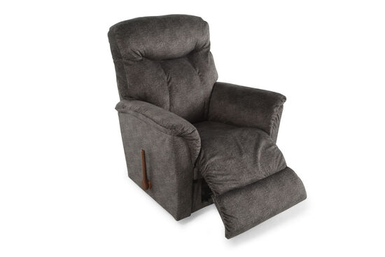 "Contemporary 35.5"" Recliner in Graphite Gray"