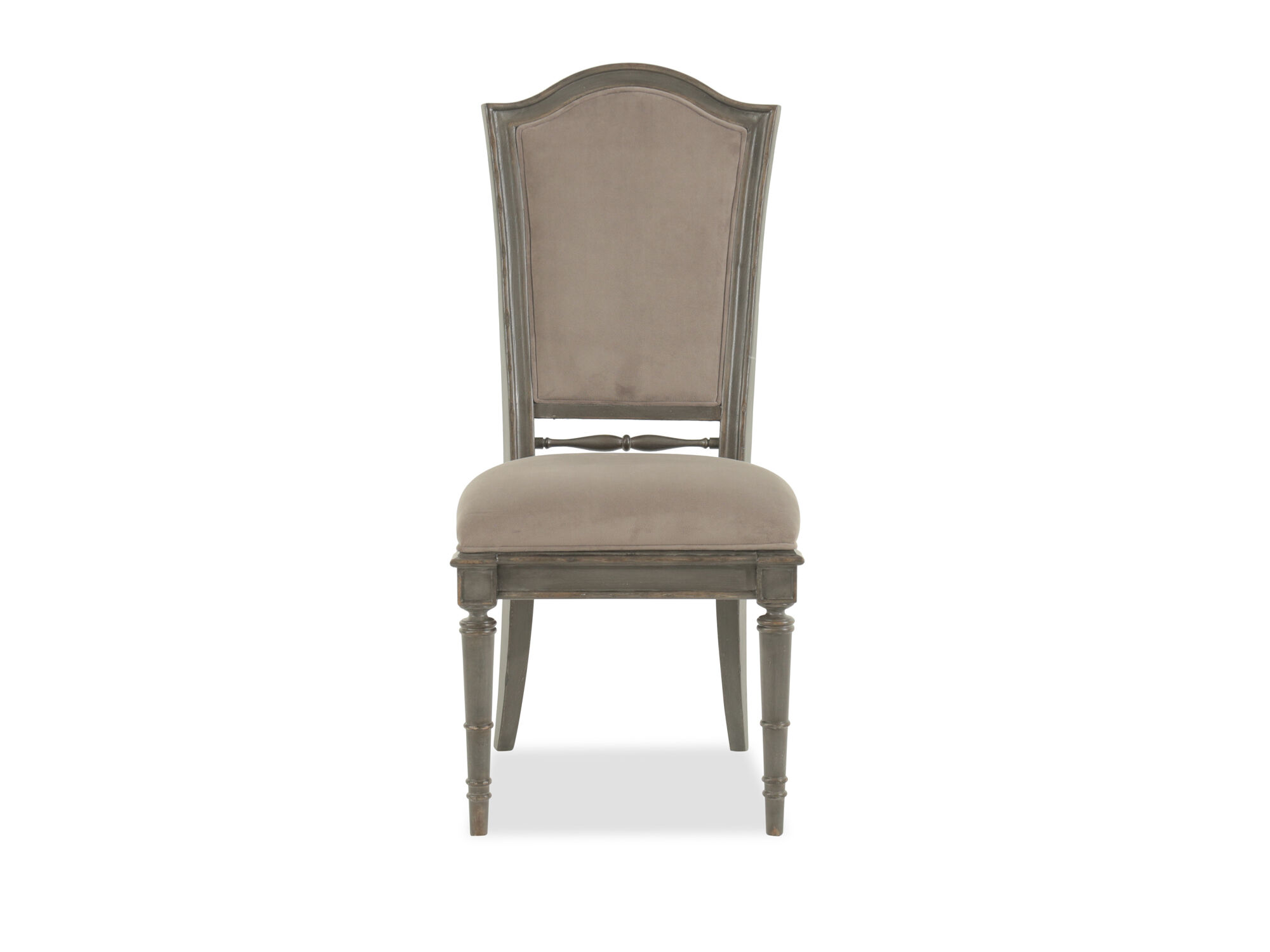 Images Refined Romantic Luxury 44u0026quot; Side Chair In Gray Refined Romantic  Luxury 44u0026quot; Side Chair In Gray