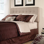 MB Home Malibu Camel Queen Headboard