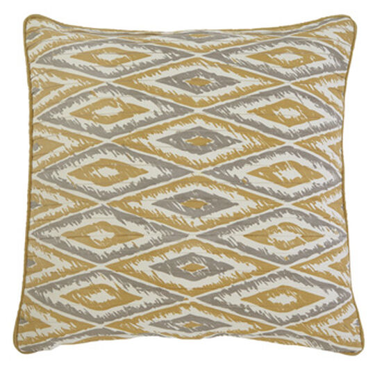 DiamondPatterned 40 Square Pillow Cover Mathis Brothers Furniture Awesome 22 Square Pillow Covers