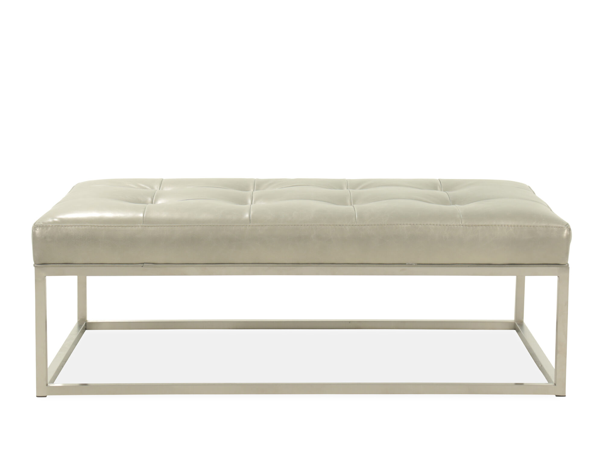 Jonathan Louis Calista Copley Leather Ottoman  sc 1 st  Mathis Brothers : jonathan louis bradford sectional - Sectionals, Sofas & Couches