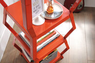 MB Home Fusionville Orange Blush Tower Etagere