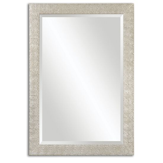 "41"" Textured Profile  Mirrorin Antique Silver"