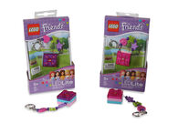 Lego Friends Pink 2 X 2 Brick Keylight