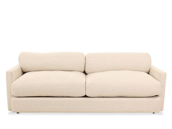 "89"" Low-Profile Shelter Sofa in Cream"