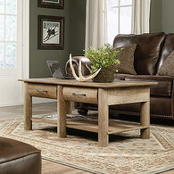 Rectangular Traditional Coffee Table in Craftsman Oak