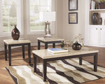 Ashley Wilder Espresso Occasional Table Set