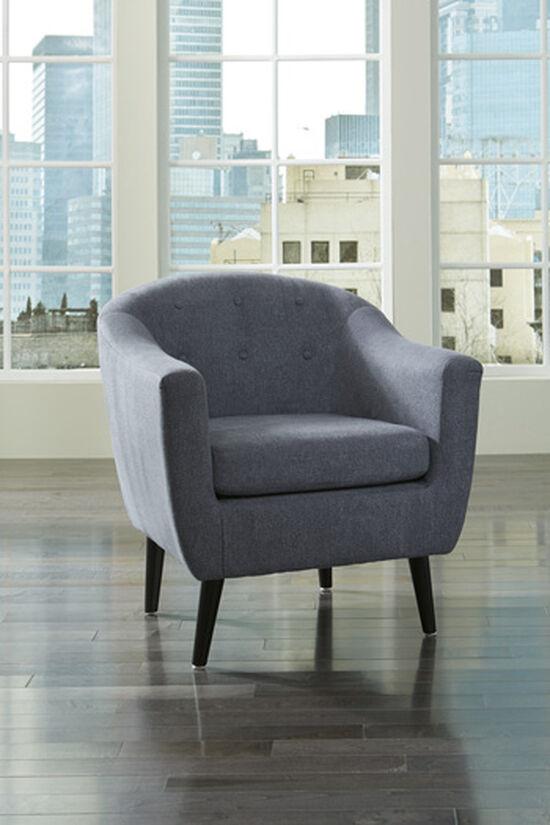 Ashley Klorey Denim Accent Chair
