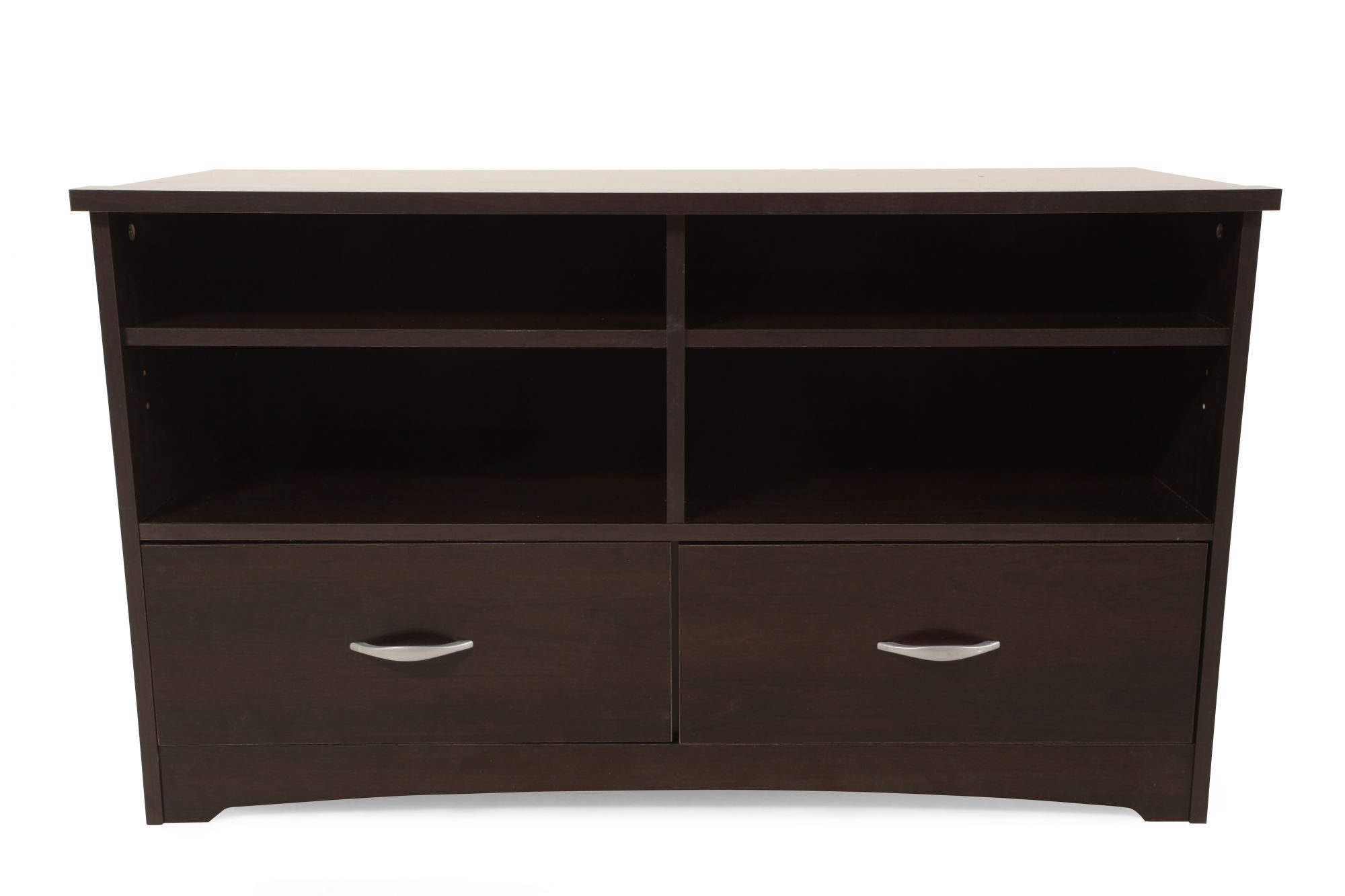 sauder beginnings cinnamon cherry tv stand - Sauder Tv Stands