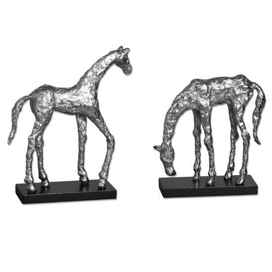 Two-Piece Horse Statues
