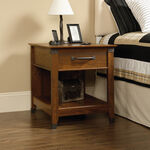 MB Home Central Avenue Washington Cherry SmartCenter Side Table