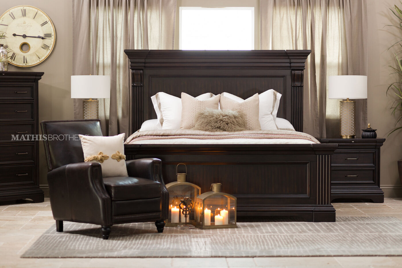 Black Panel Bedroom Set - Bedroom Designs