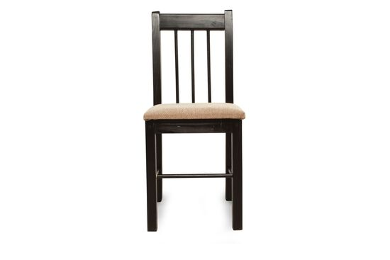 Slat Back Traditional Student Desk Chair in Dark Cherry
