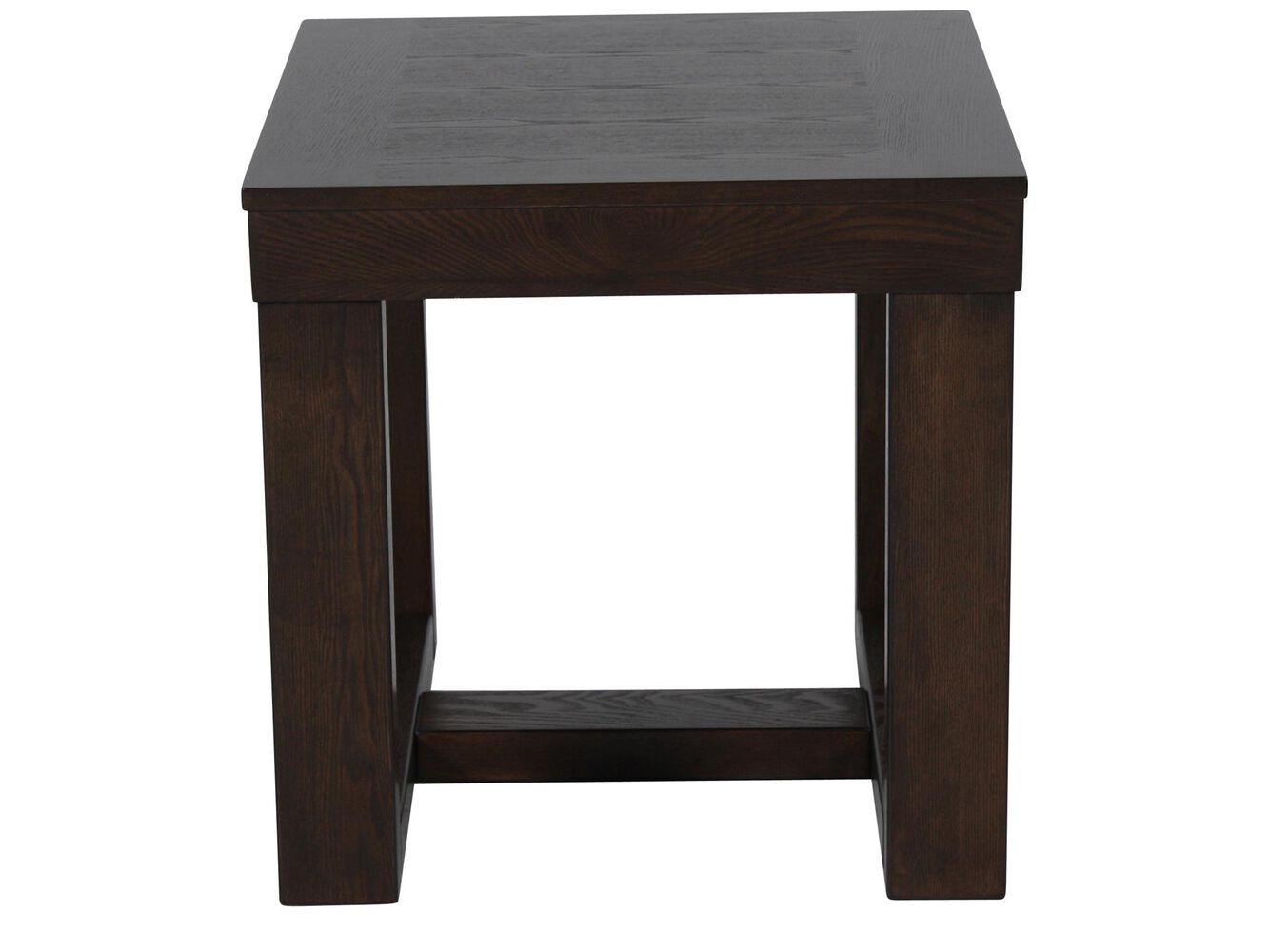 Ashley watson square end table mathis brothers furniture for Square side table